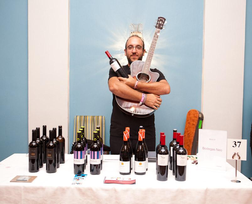 Mesés spanyol borokat is kóstolhattok a KávéBár bazáron!